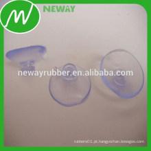 Não há copos de sucção de vácuo de PVC macio removível sujo