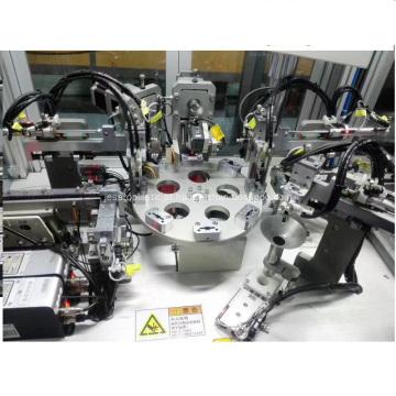 Máquina de montagem para maçaneta