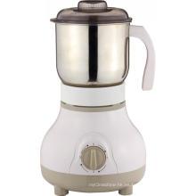 Molinillo de café eléctrico comercial en la cocina