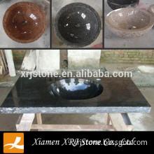 China Black Granite Composite Granite Kitchen Sink