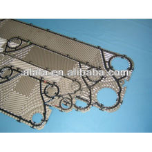 sondex plate hea exchanger plate with gasket, sondex spare parts