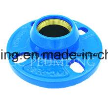 Kugelgraphit PE/PVC-schnelle Flansch-Adapter