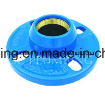 Adaptador de brida rápida de PE/PVC hierro dúctil