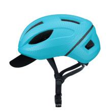 Новый городской велосипедный шлем со шляпой 2021 г.