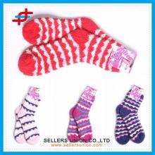 Microfiber Hause neue Stil Handtuch Socken OEM Service für Frauen