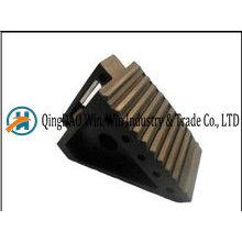 Cale de roue en caoutchouc 200 * 100 * 150 mm