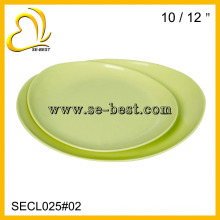 SOLID COLOR MELAMINE PLATE