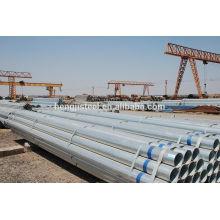 ASTM A53 SCH40 Tubes en acier galvanisés