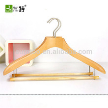 Модная роскошная деревянная вешалка для одежды