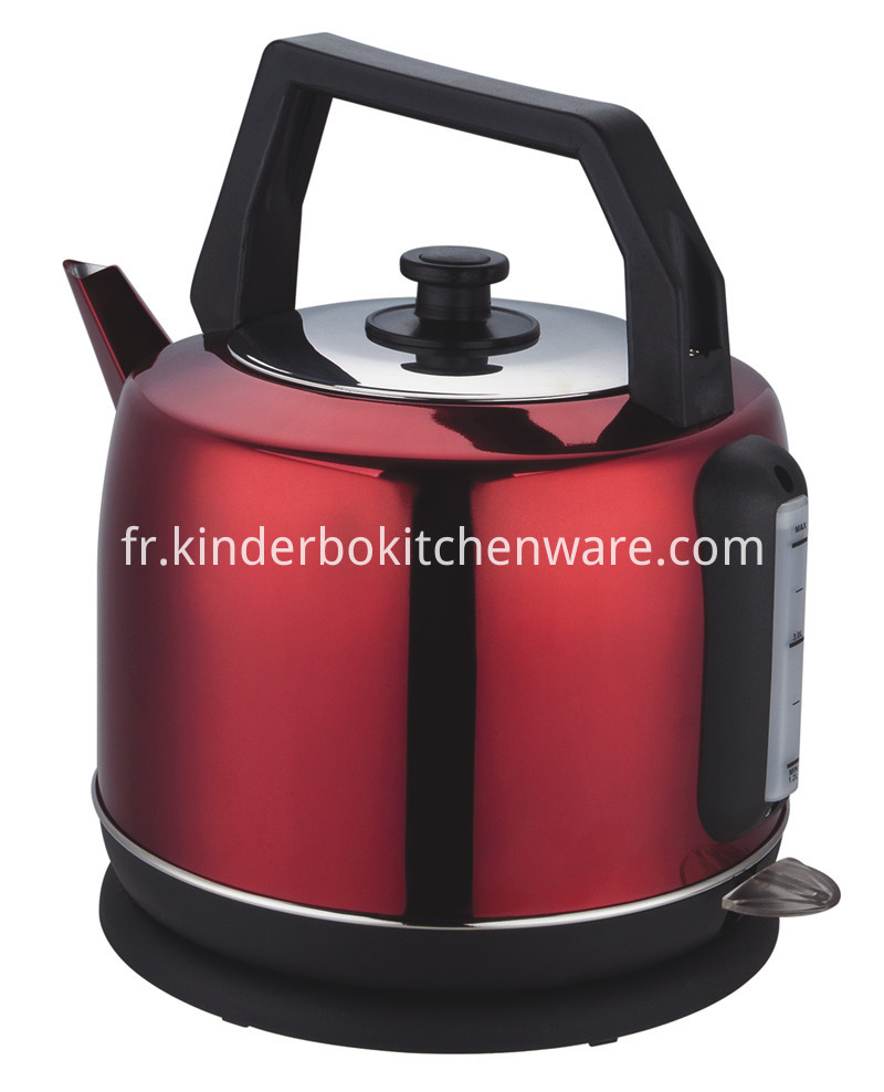 2000-2400W 4.2L stainless steel red kettle
