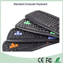 Échantillon gratuit le moins cher Clavier d'ordinateur filaire (KB-1988)