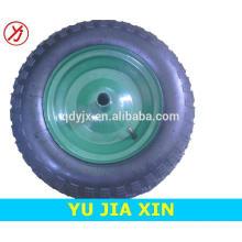 pequena roda de borracha pneumática 3.50-8