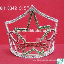 Coroa de cinco estrelas da bela borboleta