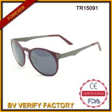 Tr15091 Material de Tr Cat Eye forma gafas de sol nuevas cumplir con Ce & FDA y UV400 estándar