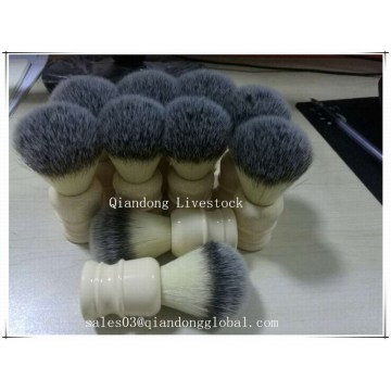 Synthetic Hair Knot Resine Handle Shaving Brush
