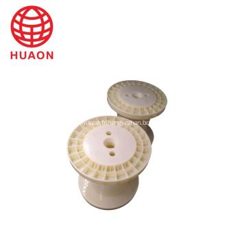 Petite canette de fil vide en plastique de haute qualité