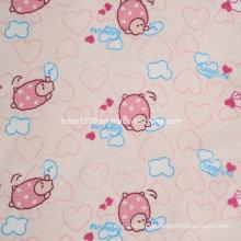 100% Baumwolle Flanell Stoff für Kinder Pyjamas mit Tier gedruckt (C20X10 / 40X42)