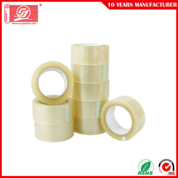 Utan bubblor BOPP Clear Transparent Adhesive Packing Tape