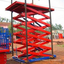 Sjg 0.5-8 Cargo Lift Hydraulic Lift Scissor Lift
