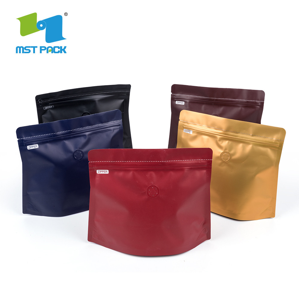 Red Stand Up Coffee Bag
