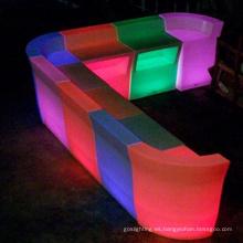 Color que cambia el contador de la barra del LED teledirigido (BS002)