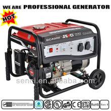 3800 vatios SC4000-I 50Hz Generador Pequeño Portátil Monofásico