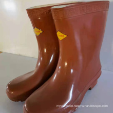 25kV insulating boots for electricians