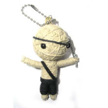Chaveiro do brinquedo do vudu da boneca do Voodoo