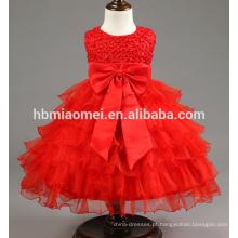 Alta Qualidade Do Bebê Meninas Vestido de Princesa Batizado Vestidos de Vestidos Infantis para o Batizado de Festa de Aniversário Recém-nascido