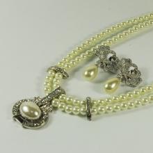Conjuntos de joyas de perlas para novias