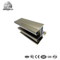 Prix abordable 6063 t5 durable matériaux de cadre de porte et fenêtre en verre d'aluminium commercial