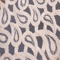 Fashion Cord Embroidery For Woman Garment  Fabric