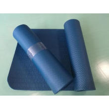 NBR single color embossed sports mat