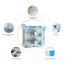Sistema central de colector de polvo