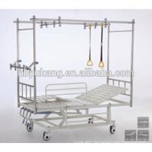 Edelstahl-Multifunktions-Orthopädie Bett C-4-1