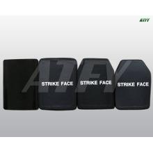 placa à prova de balas PE + SIC ou PE + Alu fabricados na China