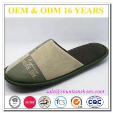 Zapatillas de cuero populares populares de la abrasión de la alta calidad
