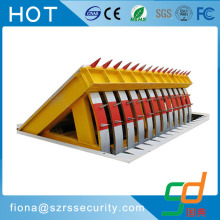 Anti-terrorist layout car parking space hydraulic blocker