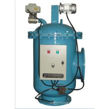 Высокие нагрузки взвешенных веществ Самоочищающийся фильтр щетки