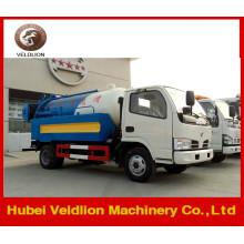 Dongfeng Mini 3m3 Vakuum-Abwasser-Saugwagen zum Verkauf