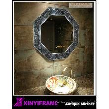 Pincess beautiful wall mirror mosaic mirror hair salon equipment mirror