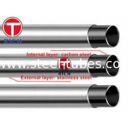 GB/T 18704 Stainless 12Cr17Mn6Ni5N Steel Clad Pipe