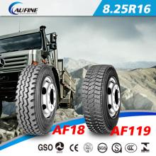 Pneu radial de caminhão leve (8.25r16 com certificado GCC/ECE/DOT)