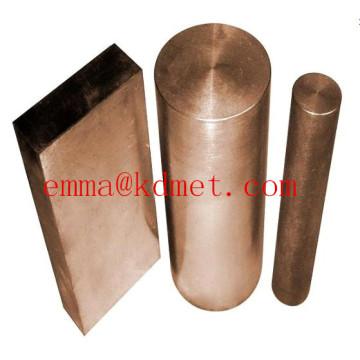 Пластина WCU / медный вольфрамовый лист / лист радиатора / медная вольфрамовая пластина