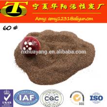 Corte de jato de água abrasivo areia granada para explosão