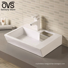 hot sale popular design elegant ceramic basin art sink