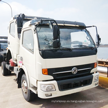 Camión cisterna de agua Dongfeng con Captain Chassis