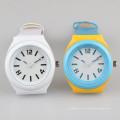 Fabricante chinês de relógios japonês quartz mans relógio couro