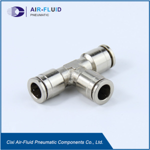 Air-Fluid H.P Slip Lok Fittings Equal TEE.