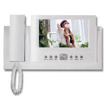 "7"" Wired LCD Home Security Video Intercom Door Phone"